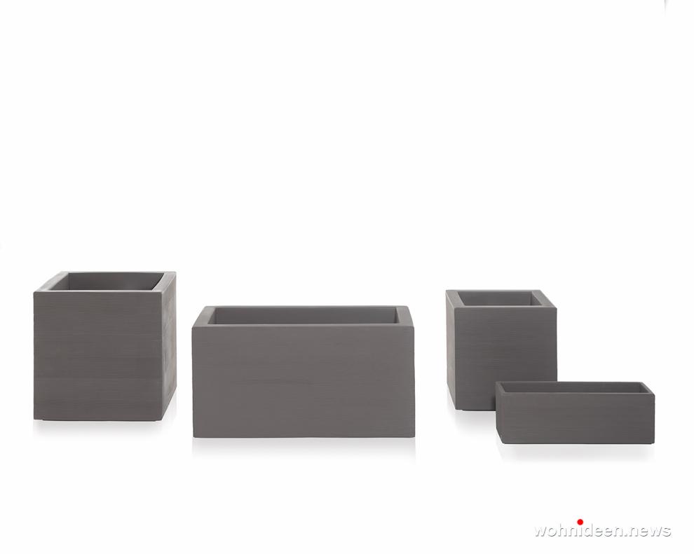 led vase kunststoff outdoor beleuchtet Slide pot quadra 2 - CUBO Leuchtwürfel | Sitzwürfel beleuchtet