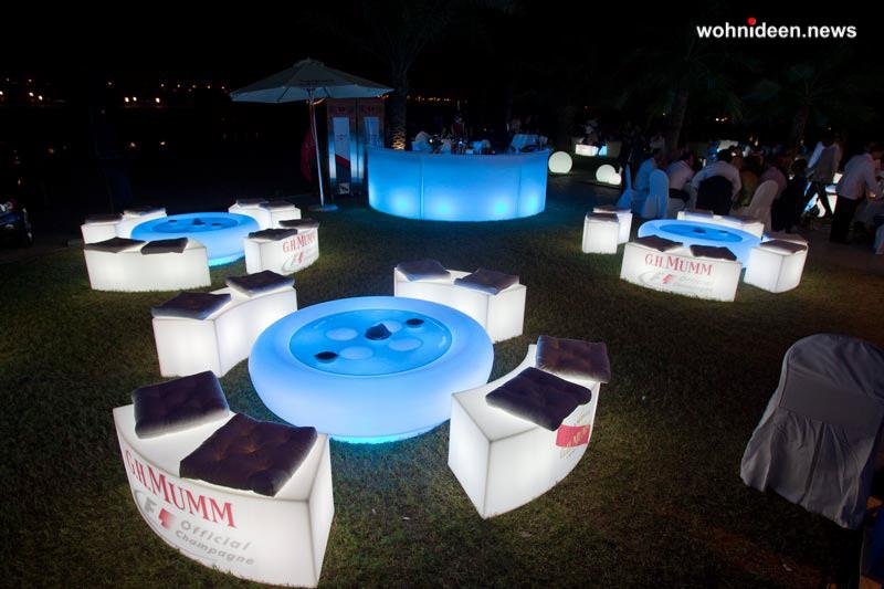leuchtwürfel möbelvermietung wörthersee - LED Möbel + Beleuchtete Möbel + Leuchtmöbel Shop