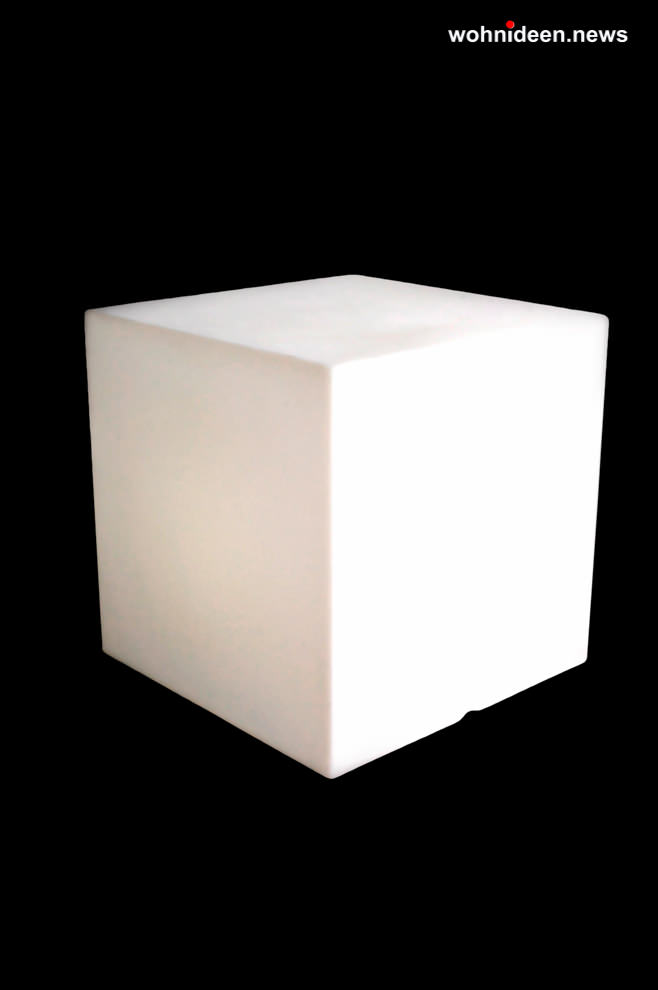 leuchtwürfel slide cubo graf news - LED Möbel + Beleuchtete Möbel + Leuchtmöbel Shop