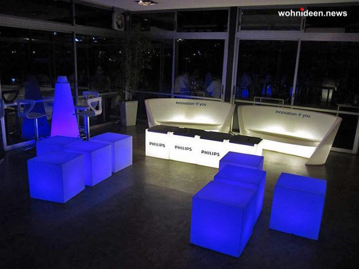 leuchtwürfel slide leuchten - LED Möbel + Beleuchtete Möbel + Leuchtmöbel Shop