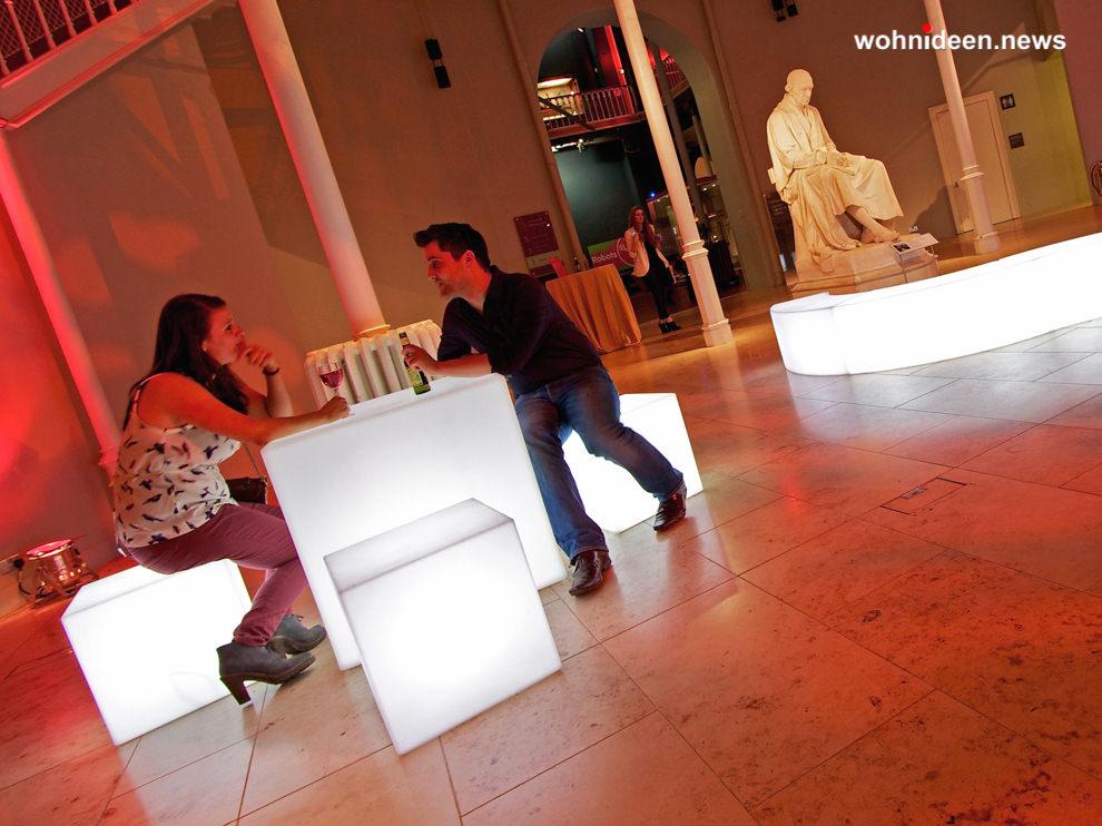 leuchtwürfel - LED Möbel + Beleuchtete Möbel + Leuchtmöbel Shop