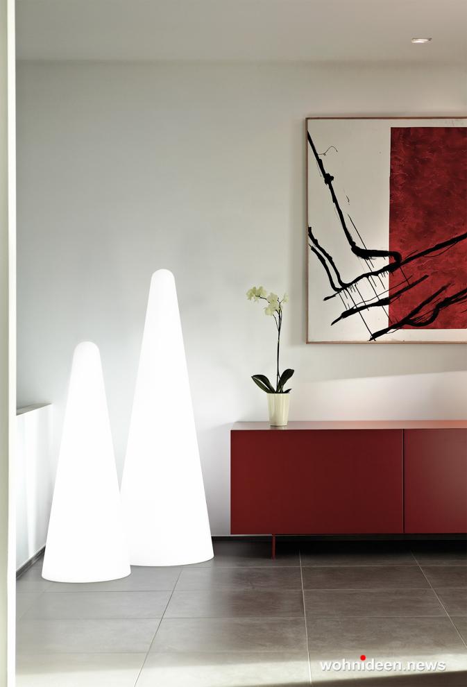 loungemöbel beleuchtet floor lamp cono 1 - Loungemöbel Outdoor Wetterfest