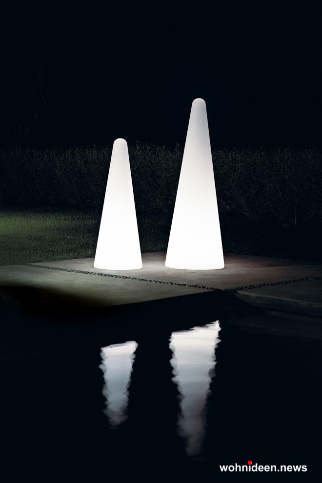 loungemöbel beleuchtet floor lamp cono 4 - Loungemöbel Outdoor Wetterfest