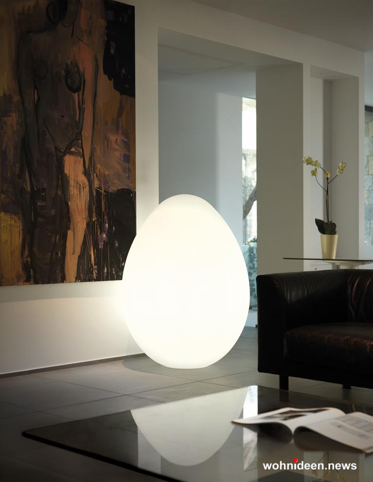 loungemöbel beleuchtet floor lamp dino 1 - Loungemöbel Outdoor Wetterfest