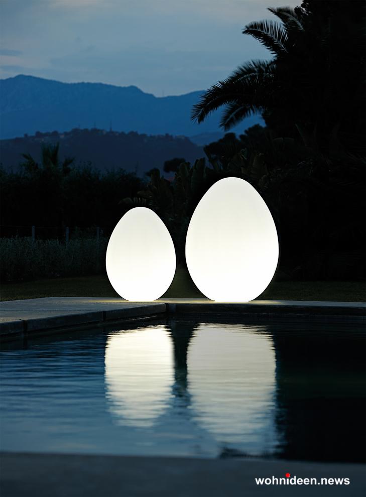 loungemöbel beleuchtet floor lamp dino 2 - Loungemöbel Outdoor Wetterfest