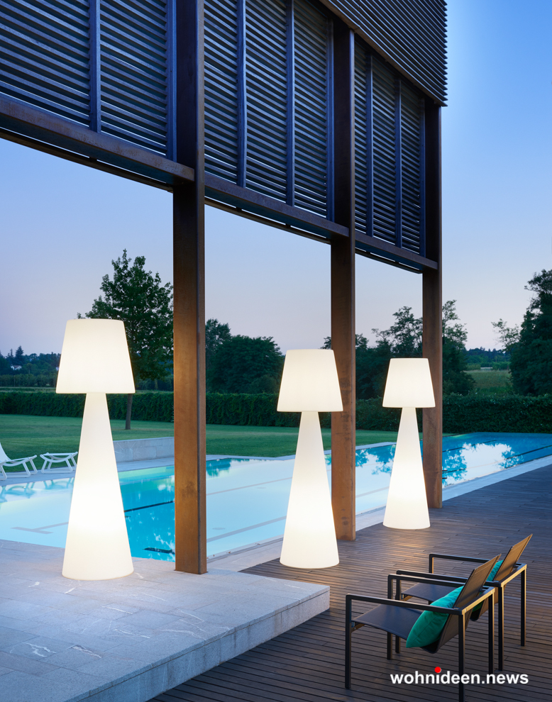 loungemöbel beleuchtet floor lamp pivot 1 - Loungemöbel Outdoor Wetterfest