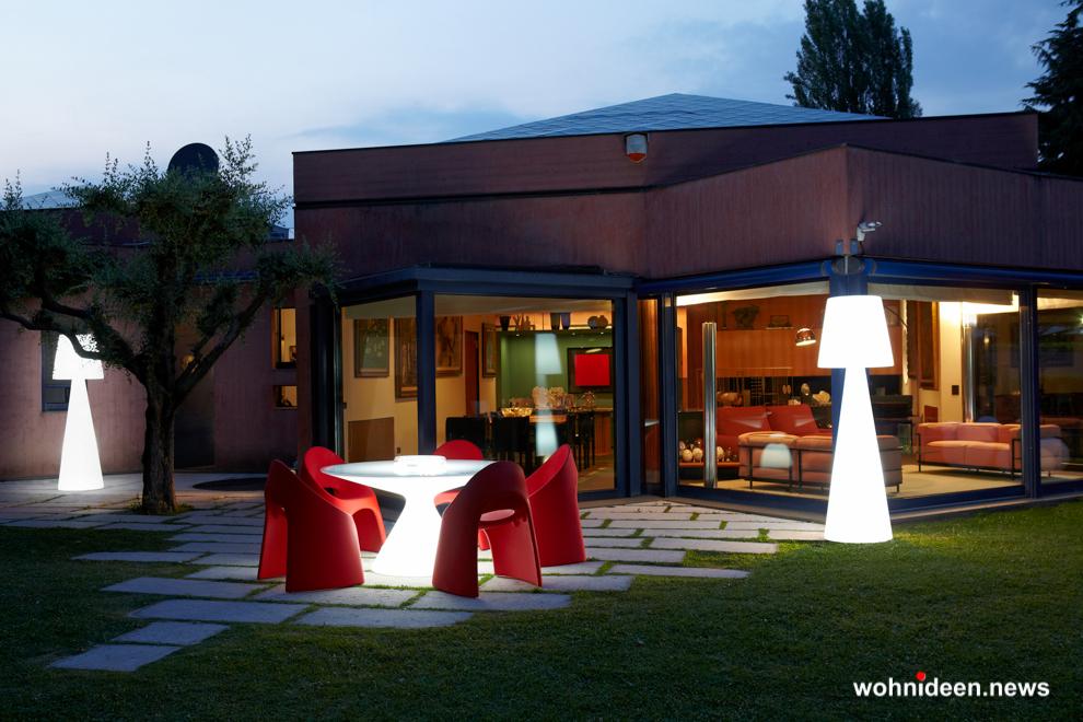 loungemöbel beleuchtet floor lamp pivot 4 - Loungemöbel Outdoor Wetterfest