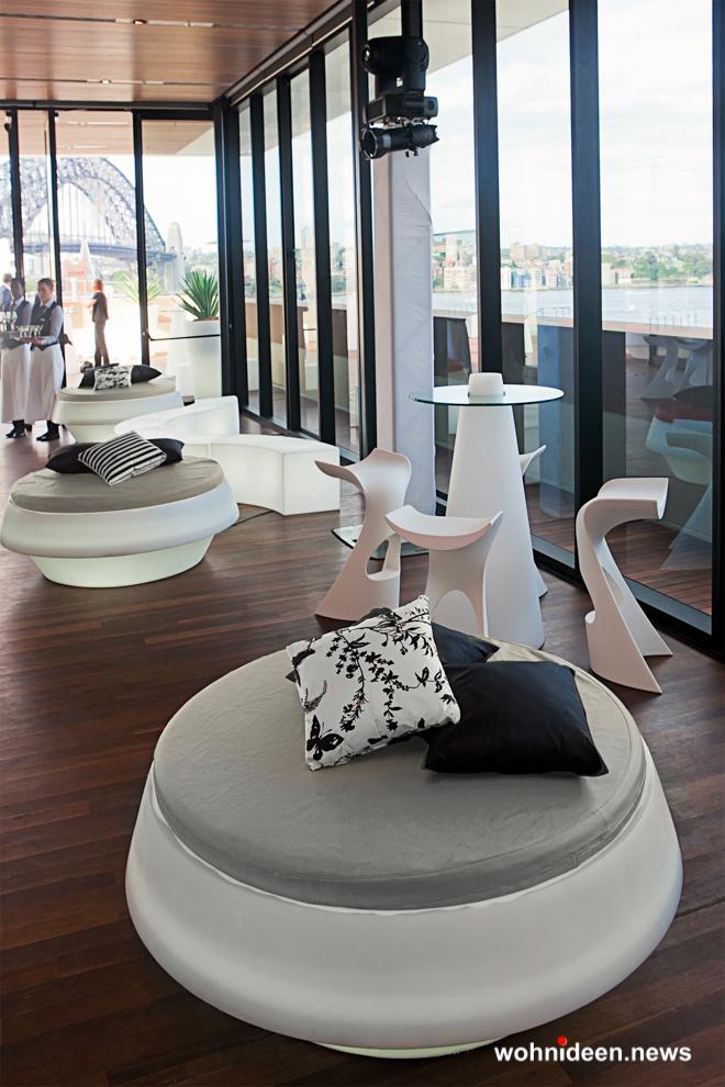 loungemöbel beleuchtet gio pouf 11 - Hochwertige beleuchtete Outdoor Loungemöbel