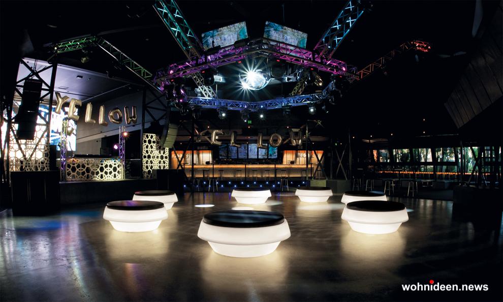 loungemöbel beleuchtet gio pouf 5 - Loungemöbel Outdoor Wetterfest