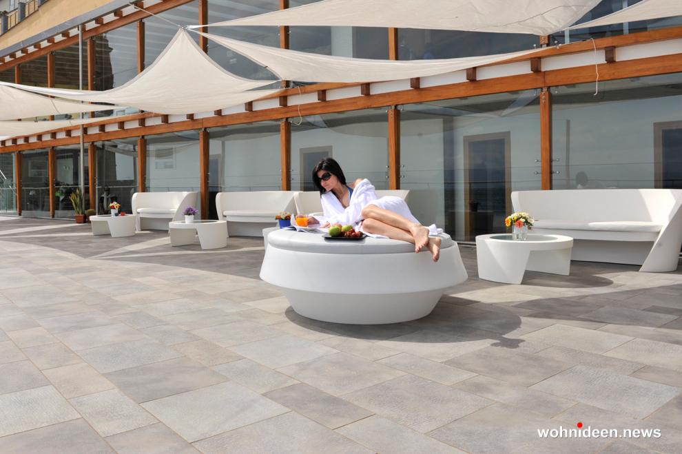 loungemöbel beleuchtet gio pouf 8 - Hochwertige beleuchtete Outdoor Loungemöbel