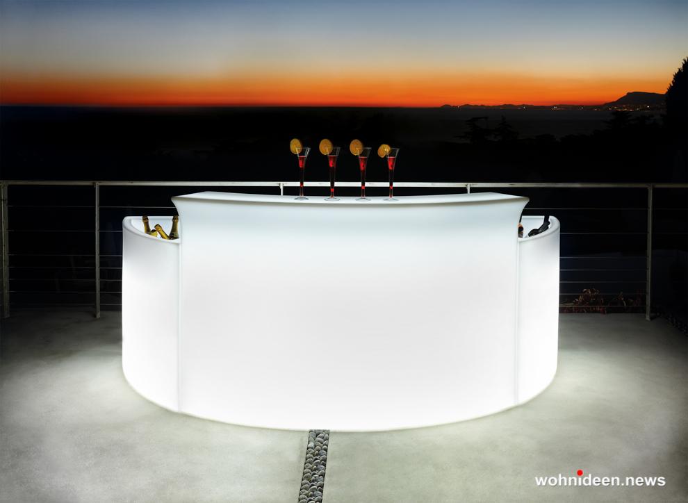 loungemöbel beleuchtet icerack ice bar 3 - Hochwertige beleuchtete Outdoor Loungemöbel