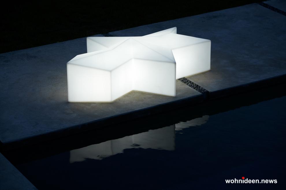loungemöbel beleuchtet lounge seat glacè 1 - Hochwertige beleuchtete Outdoor Loungemöbel