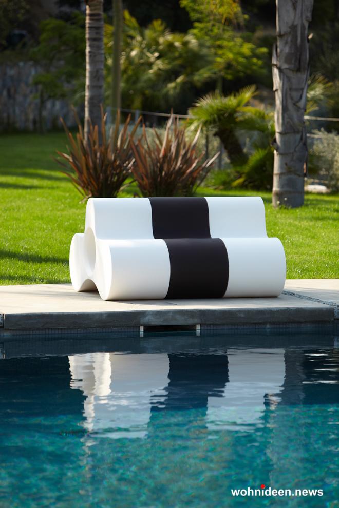 loungemöbel beleuchtet low chair wheely 2 - Hochwertige beleuchtete Outdoor Loungemöbel