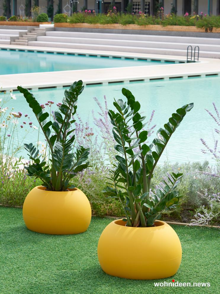 loungemöbel gartenmöbel blos pot 1 - LED Möbel, beleuchtete Möbel, Leuchtmöbel