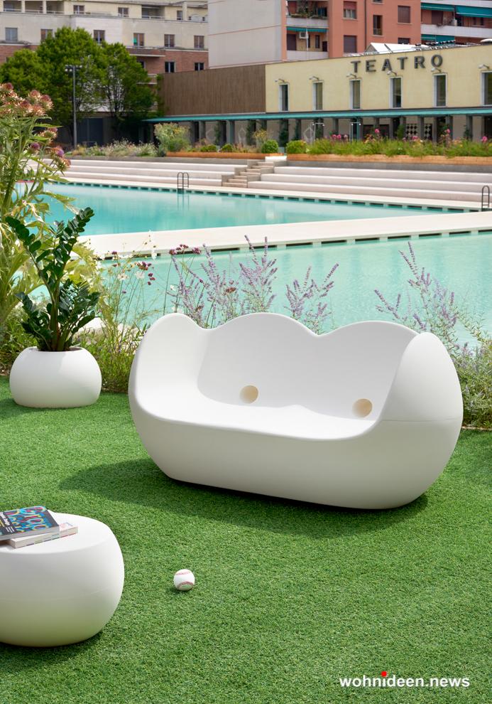 loungemöbel gartenmöbel blos pot 3 - LED Möbel, beleuchtete Möbel, Leuchtmöbel