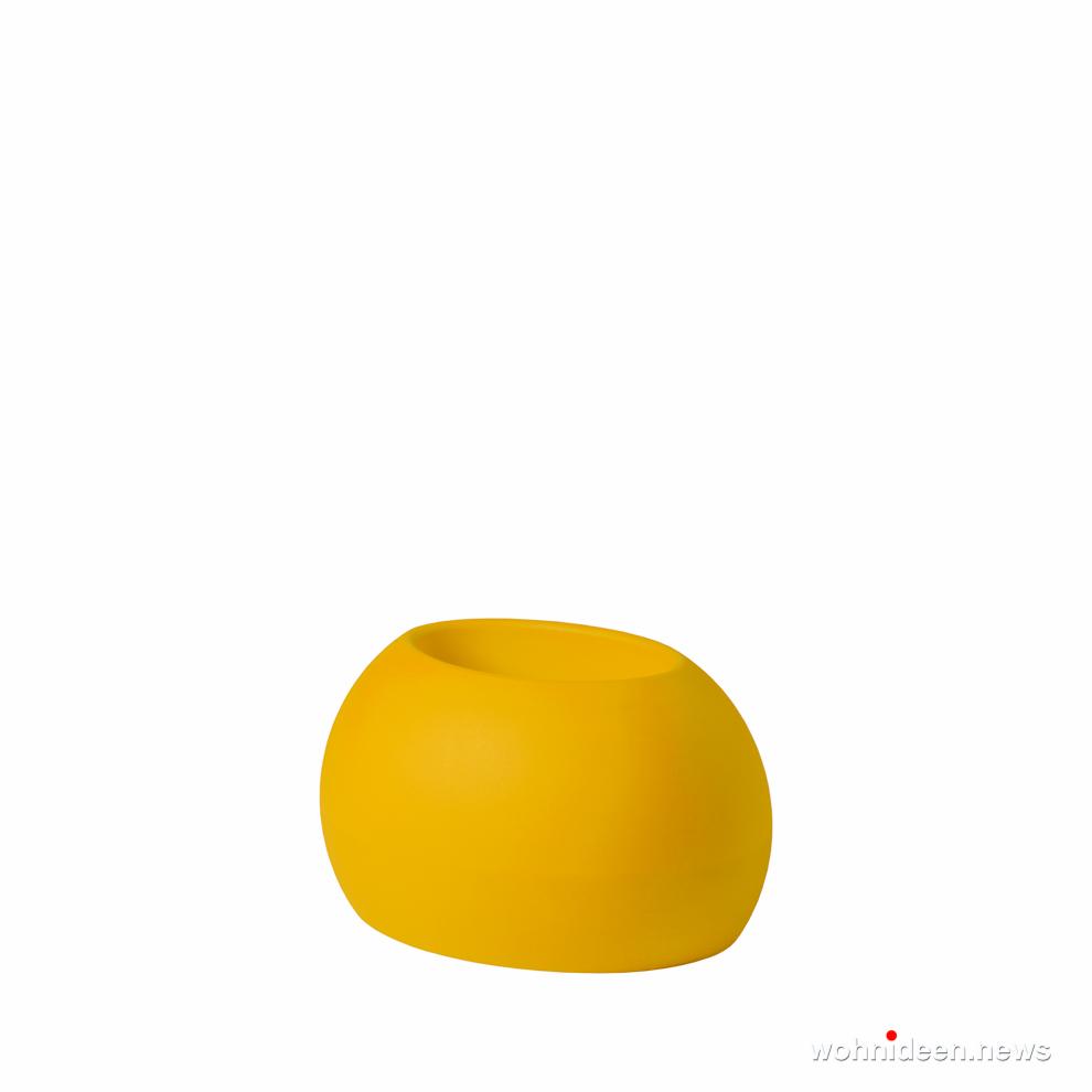 loungemöbel gartenmöbel blos pot saffron yellow prosp - Hochwertige beleuchtete Outdoor Loungemöbel