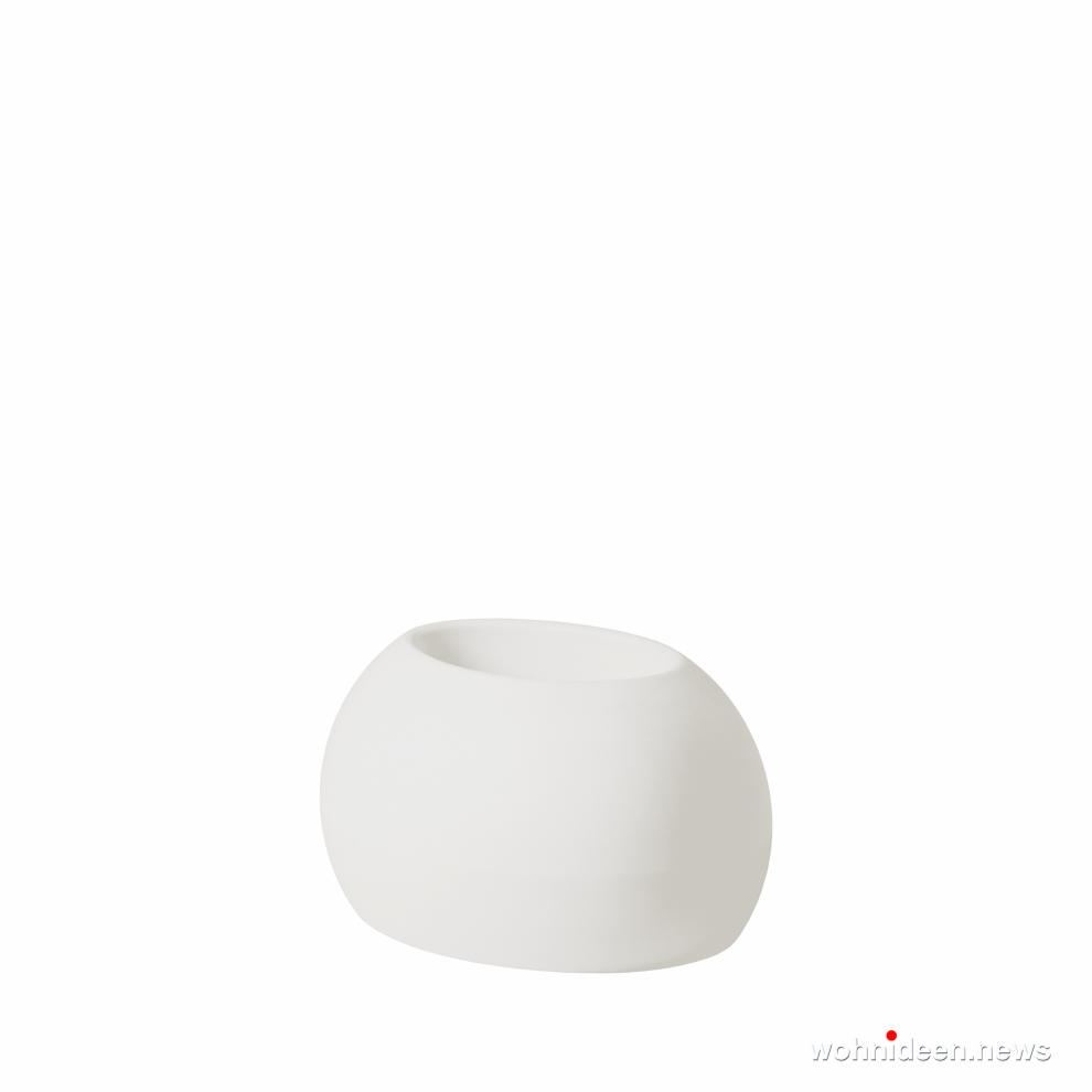 loungemöbel gartenmöbel bloss pot milky white prosp - LED Möbel, beleuchtete Möbel, Leuchtmöbel
