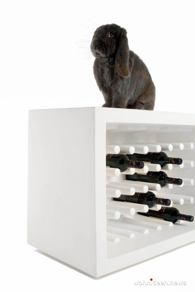 loungemöbel gartenmöbel bottlerack bachus 4 - LED Möbel, beleuchtete Möbel, Leuchtmöbel