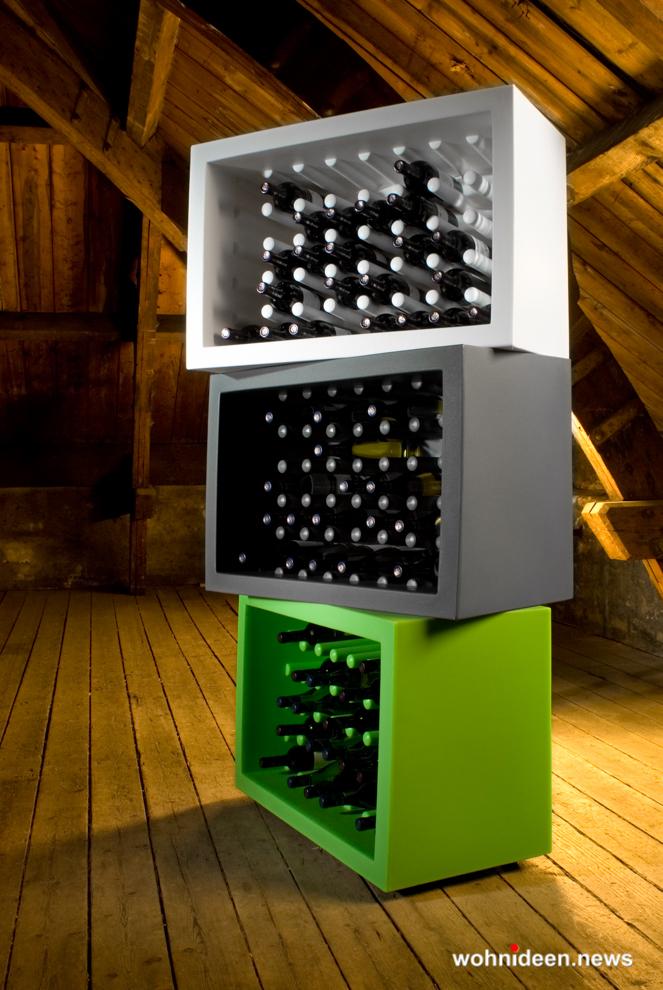 loungemöbel gartenmöbel bottlerack bachus 5 - LED Möbel, beleuchtete Möbel, Leuchtmöbel