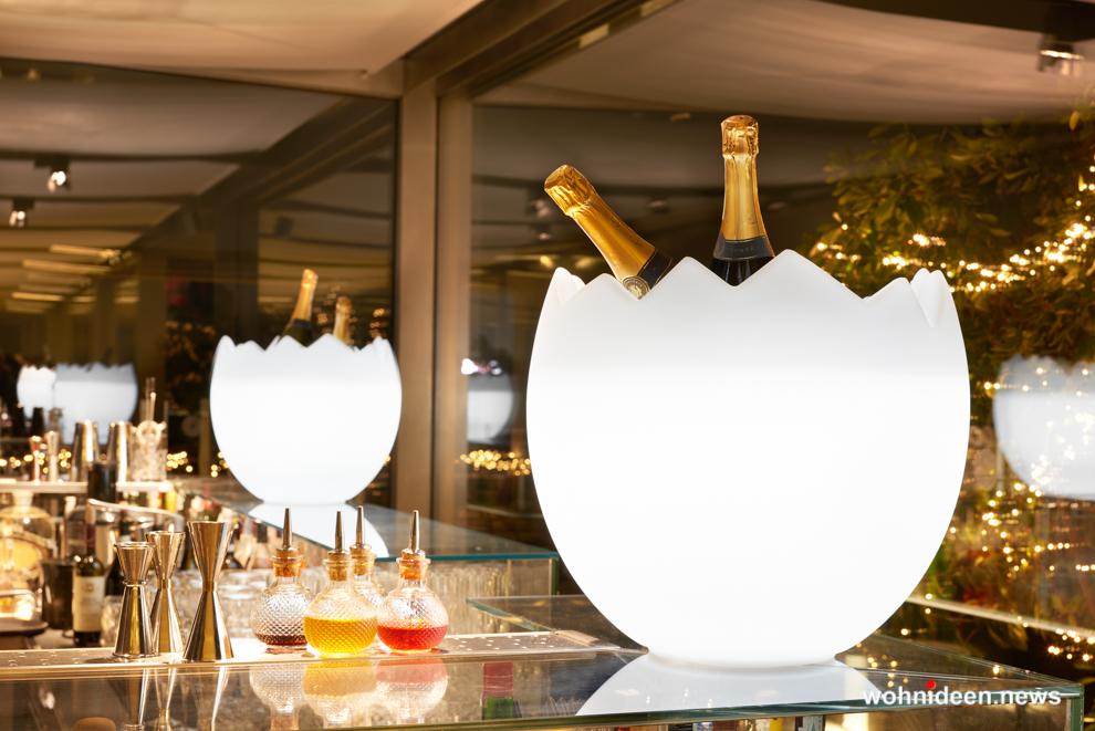 loungemöbel gartenmöbel bottlerack kalimera 2 - LED Möbel, beleuchtete Möbel, Leuchtmöbel