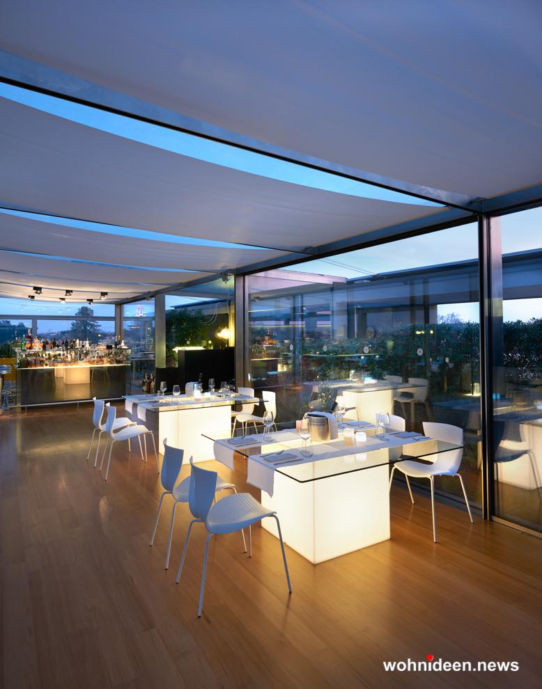 loungemöbel gartenmöbel chair gloria 2 - LED Möbel, beleuchtete Möbel, Leuchtmöbel