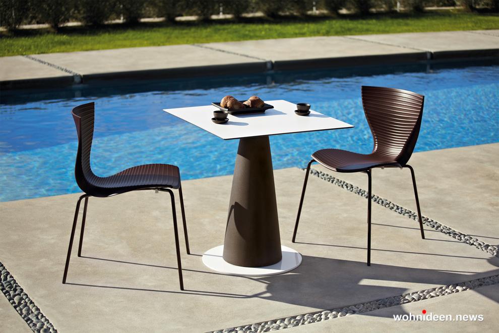 loungemöbel gartenmöbel chair gloria 4 - LED Möbel, beleuchtete Möbel, Leuchtmöbel