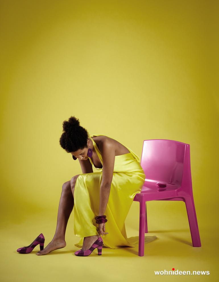 loungemöbel gartenmöbel chair q4 11 - LED Möbel, beleuchtete Möbel, Leuchtmöbel