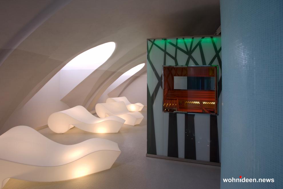 loungemöbel gartenmöbel chaiselongue rococò 3 - LED Möbel, beleuchtete Möbel, Leuchtmöbel