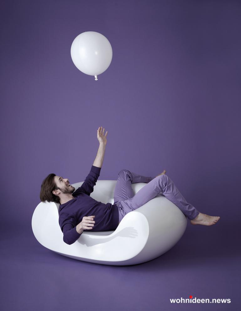 loungemöbel outdoor armchair chubby 8 - Beleuchtete Loungemöbel & Beleuchtete Outdoor Möbel