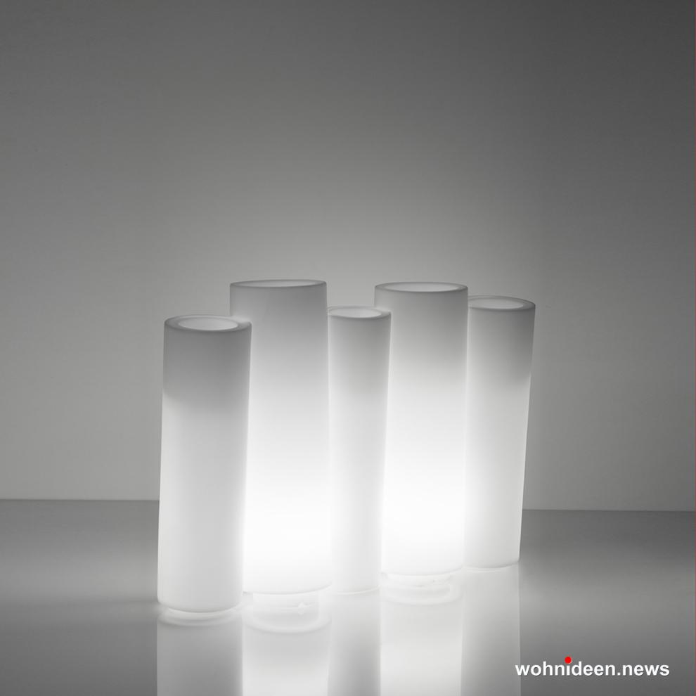 loungemöbel outdoor bamboo lighting light white sfondo - Kunststoffmöbel Lounge Möbel aus Kunststoff
