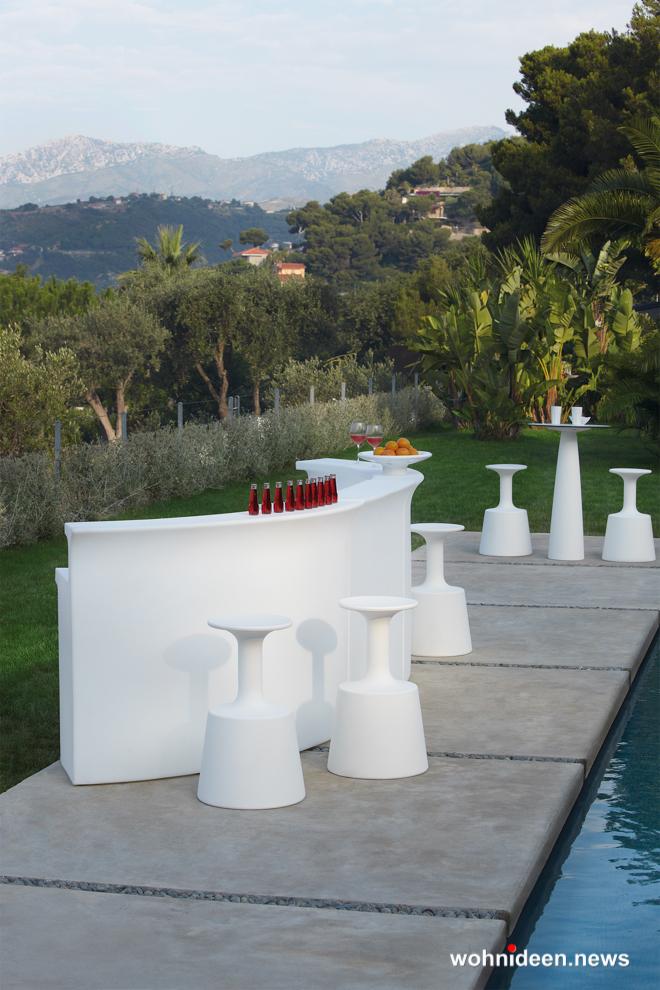 loungemöbel outdoor bar counter break line 4 - Kunststoffmöbel Lounge Möbel aus Kunststoff