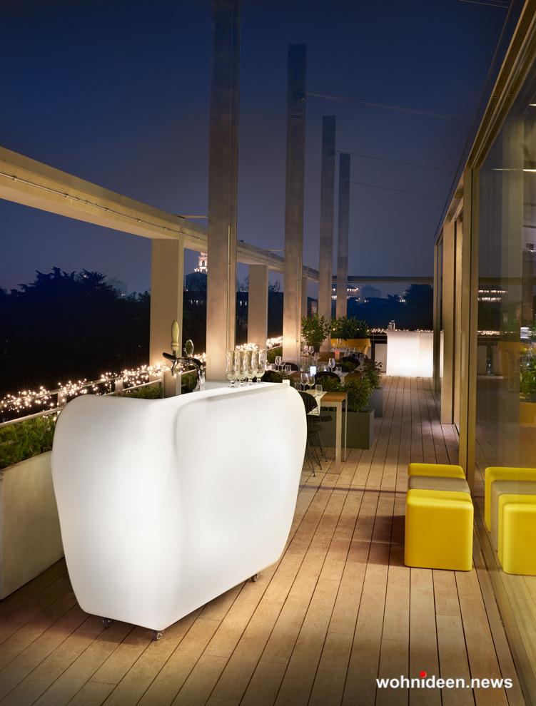 loungemöbel outdoor bar counter roller 1 - Kunststoffmöbel Lounge Möbel aus Kunststoff