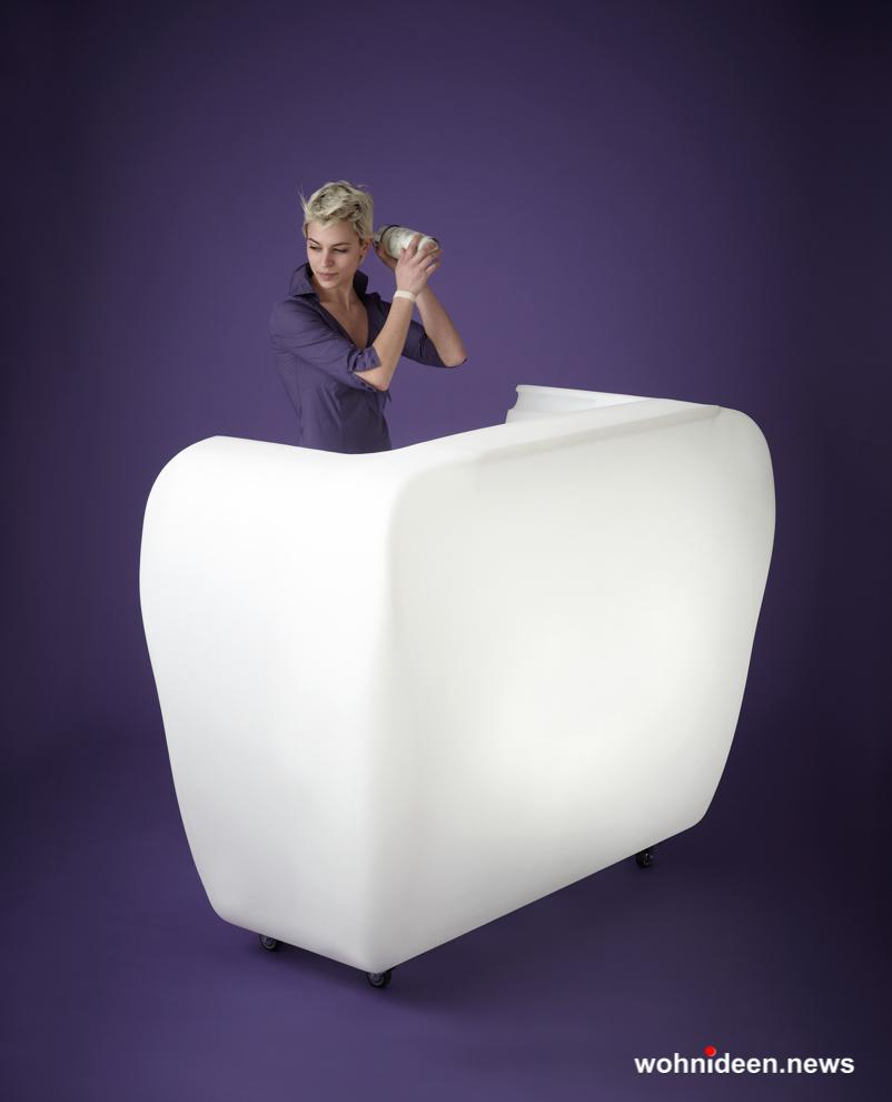 loungemöbel outdoor bar counter roller 3 - Kunststoffmöbel Lounge Möbel aus Kunststoff