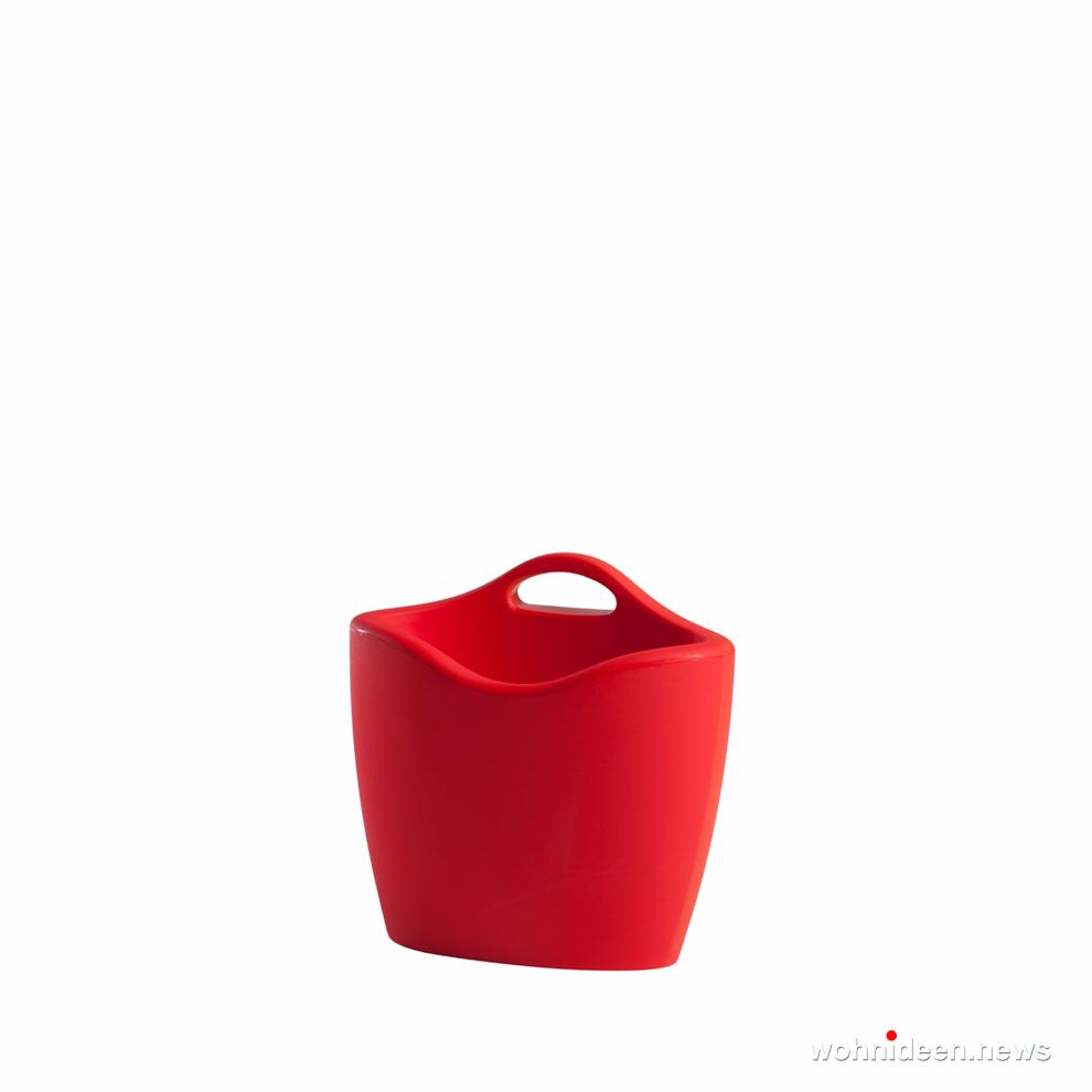 loungemöbel outdoor wetterfest mag flame red prosp - Kunststoffmöbel Lounge Möbel aus Kunststoff