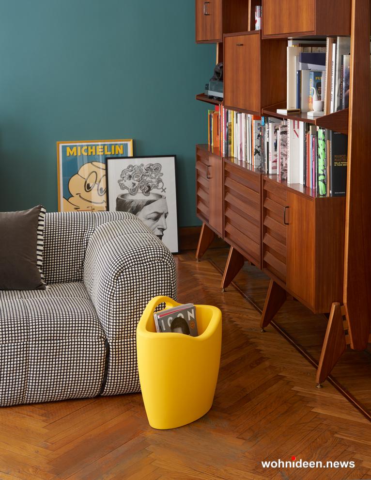 loungemöbel outdoor wetterfest magazine rack mag 1 - Kunststoffmöbel Lounge Möbel aus Kunststoff