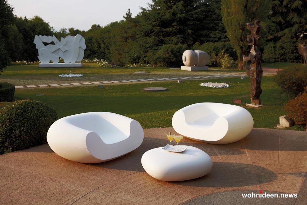 loungemöbel outdoor wetterfest pouf chubby low 2 - Traumhafte Loungemöbel Gartenmöbel