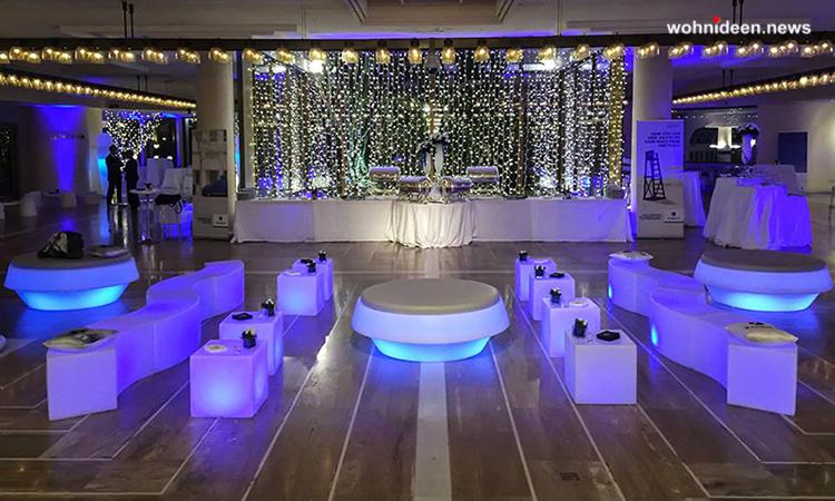 möbelvermietung berlin leuchtmöbel sitzwürfel - LED Möbel + Beleuchtete Möbel + Leuchtmöbel Shop