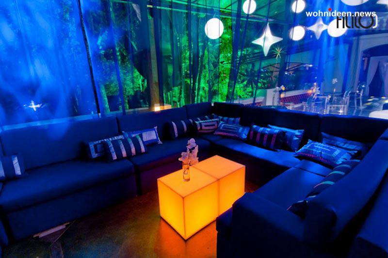 möbelvermietung - LED Möbel + Beleuchtete Möbel + Leuchtmöbel Shop
