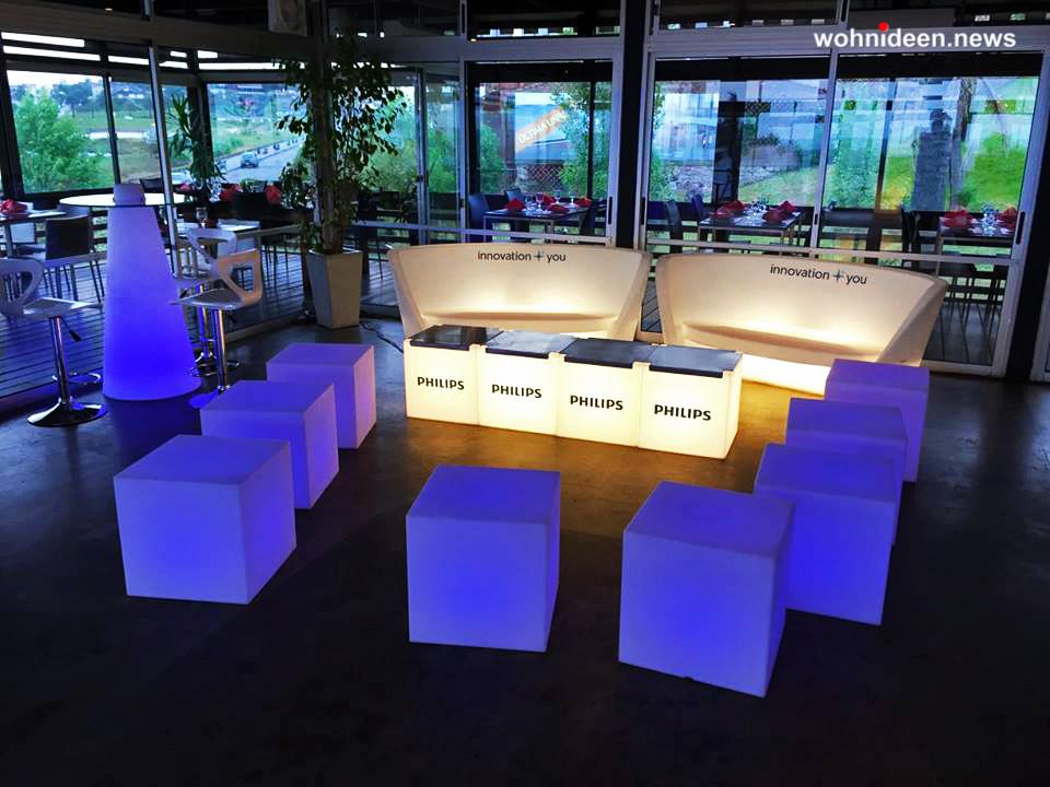sitzmöbel beleuchtet - LED Möbel + Beleuchtete Möbel + Leuchtmöbel Shop