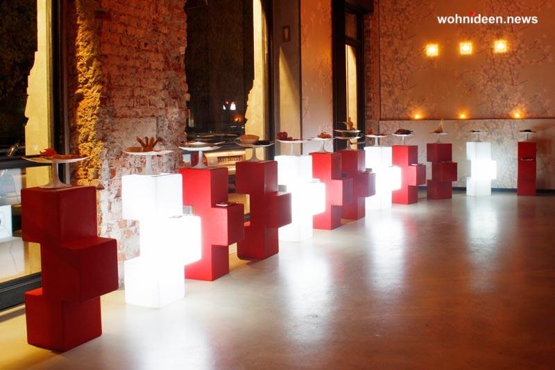sitzwürfel beleuchtet möbelvermietung - LED Möbel + Beleuchtete Möbel + Leuchtmöbel Shop
