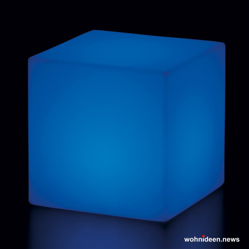 sitzwürfel blau beleuchtet Slide slide cubo led 2 - Sitzwürfel beleuchtet Hocker Leuchtwürfel