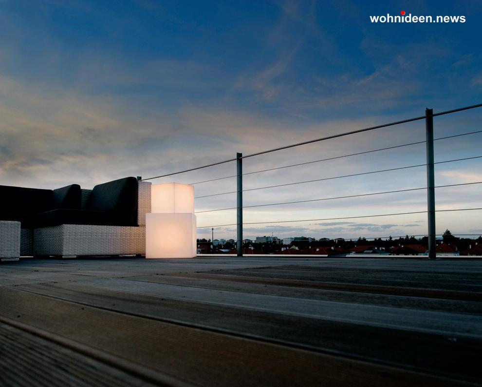 slide cubo 9 leuchtmöbel - Leuchtwürfel Sitzwürfel Hocker beleuchtet