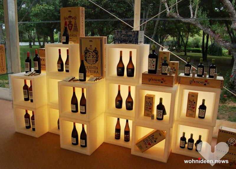 wedding lisbon open cube bar - Sitzwürfel beleuchtet Hocker Leuchtwürfel