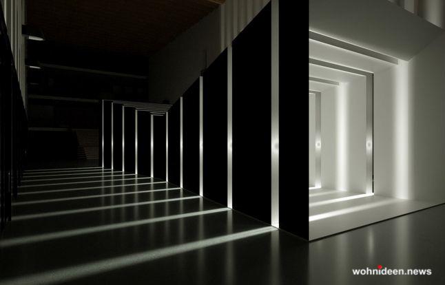 Außenbeleuchtung Außenlampen - Outdoor Fassadenbeleuchtung RGB - LED-Gebäudebeleuchtung