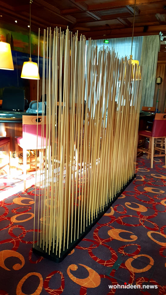 Balkon sichtschutz bambus Ideen - Bambus Büro Sichtschutz Sunshine Gastronomie