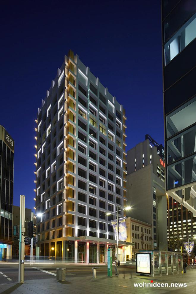 Fassadenbeleuchtung » RGB LED Wall Washer Aussenbeleuchtung - Outdoor Fassadenbeleuchtung RGB - LED-Gebäudebeleuchtung