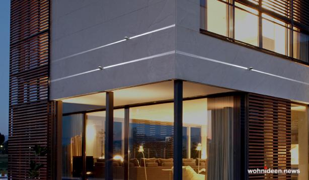 Fassadenbeleuchtung Hausbeleuchtung Garagenbeleuchtung - Outdoor Fassadenbeleuchtung RGB - LED-Gebäudebeleuchtung