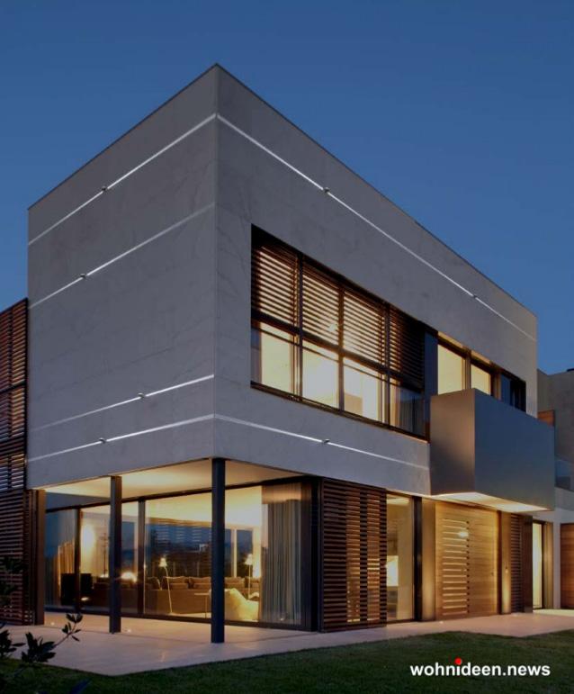 Fassadenbeleuchtung Kunstbeleuchtung - Outdoor Fassadenbeleuchtung RGB - LED-Gebäudebeleuchtung