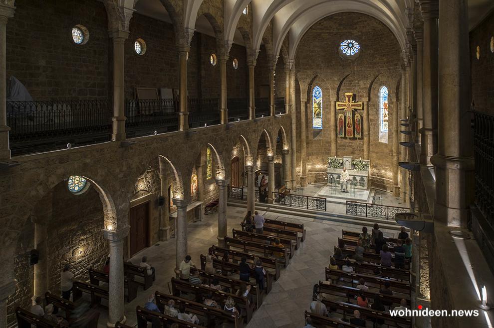 Kirchenbeleuchtung Aussenbeleuchtung - Outdoor Fassadenbeleuchtung RGB - LED-Gebäudebeleuchtung