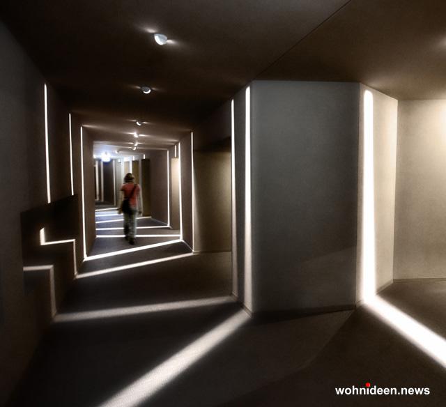 LED Fassadenbeleuchtung und LED Fassadenstrahler Wasserfest für Innen und Aussen verwendbar - Outdoor Fassadenbeleuchtung RGB - LED-Gebäudebeleuchtung